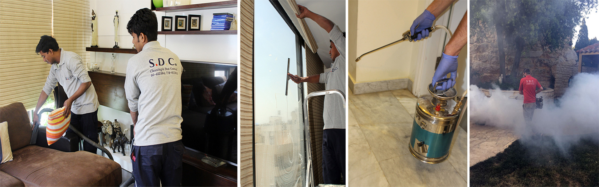 Cleaning Services in Lebanon & Pest Control Lebanon by SDC Services